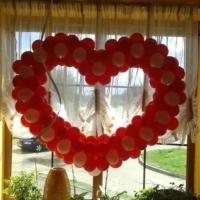 сердце фонарик